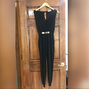 Other - Sleeveless Black Jumpsuit